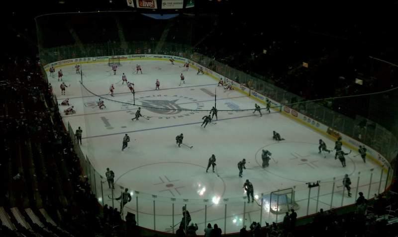 Vista sentada para Nationwide Arena Secção 226 Fila D