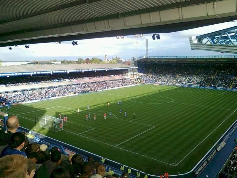 Vista sentada para St Andrew's Stadium