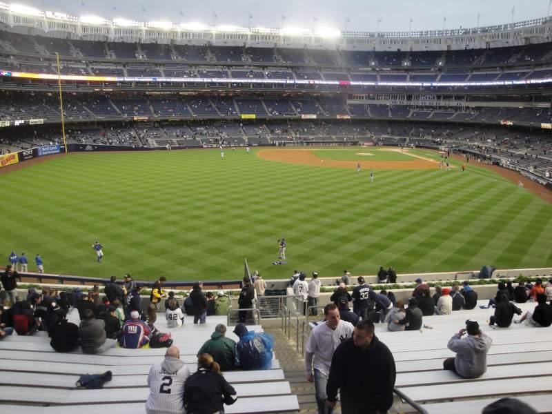Vista sentada para Yankee Stadium Secção 236