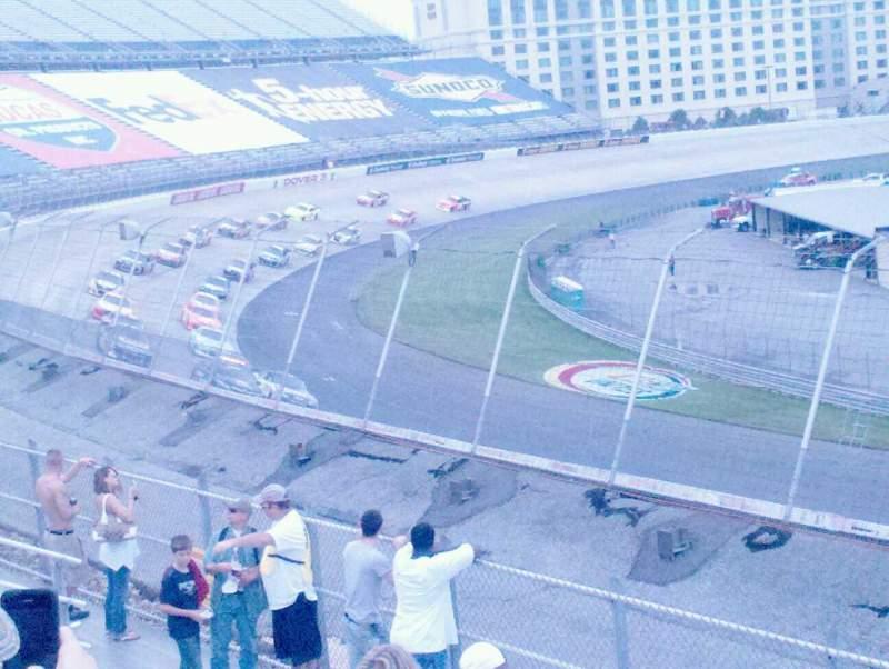 Vista sentada para Dover International Speedway Secção 132 Fila 8 Lugar 7