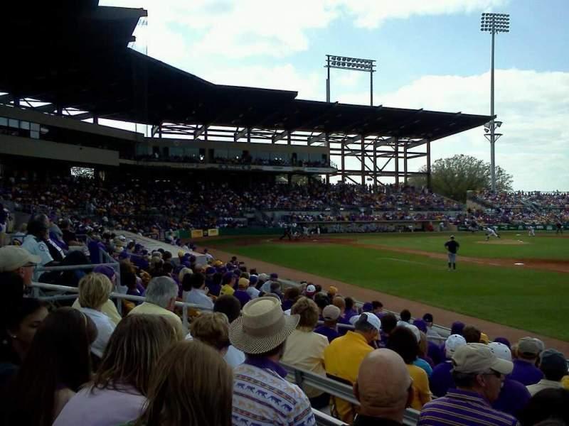 Vista sentada para Alex Box Stadium Secção 106