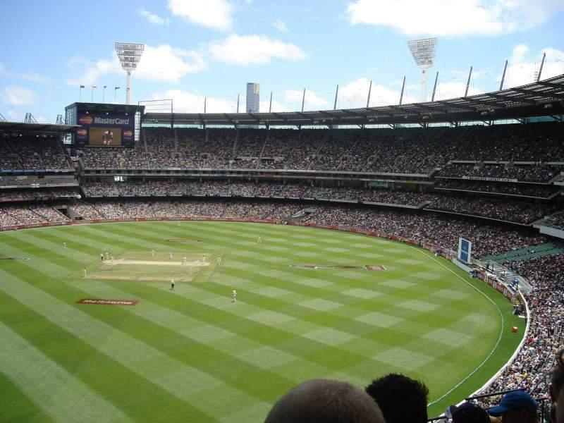 Vista sentada para Melbourne Cricket Ground Secção Q25