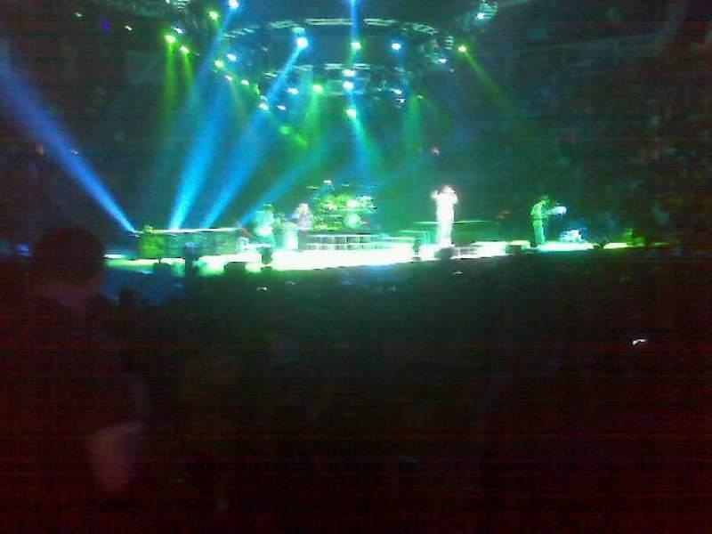 Vista sentada para Mandalay Bay Events Center Secção 108 Fila 7 Lugar 7