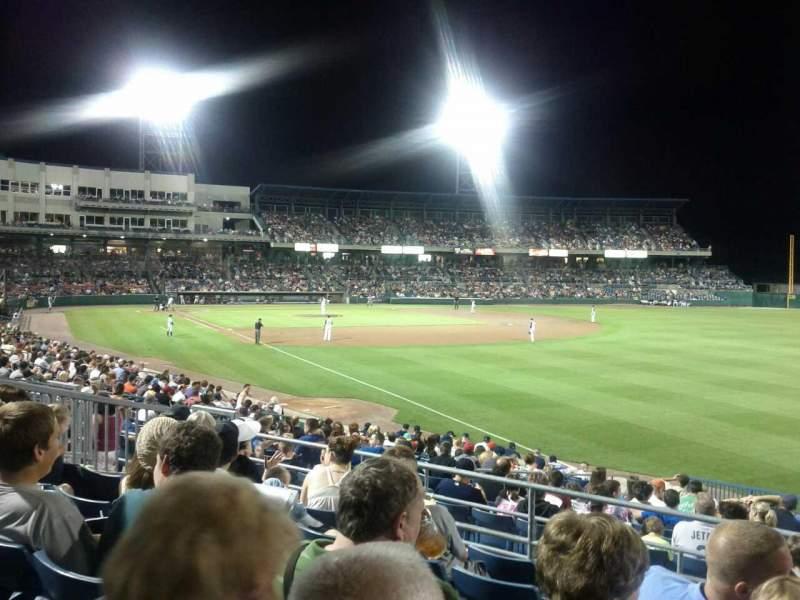 Vista sentada para NBT Bank Stadium