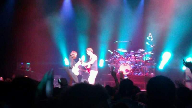 Vista sentada para Hard Rock Live Orlando Secção Floor