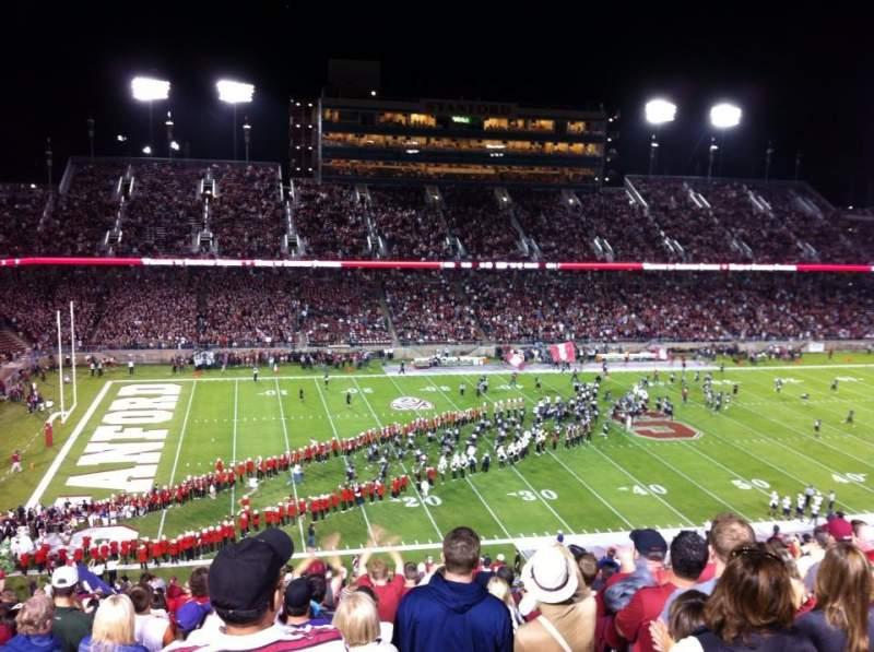 Vista sentada para Stanford Stadium Secção 236 Fila CC Lugar 15