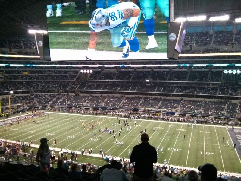 Vista sentada para AT&T Stadium Secção C333 Fila 13 Lugar 9