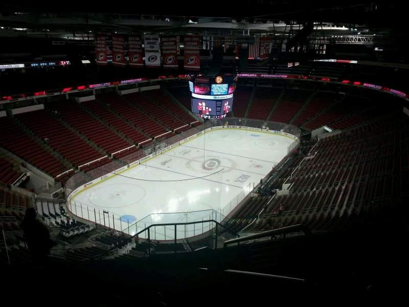 Vista sentada para PNC Arena Secção 311 Fila J Lugar 1