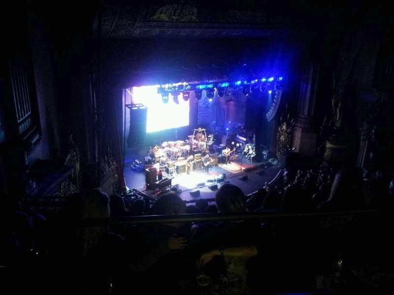 Vista sentada para Beacon Theatre Secção Upper Balcony 3 Fila F Lugar 45