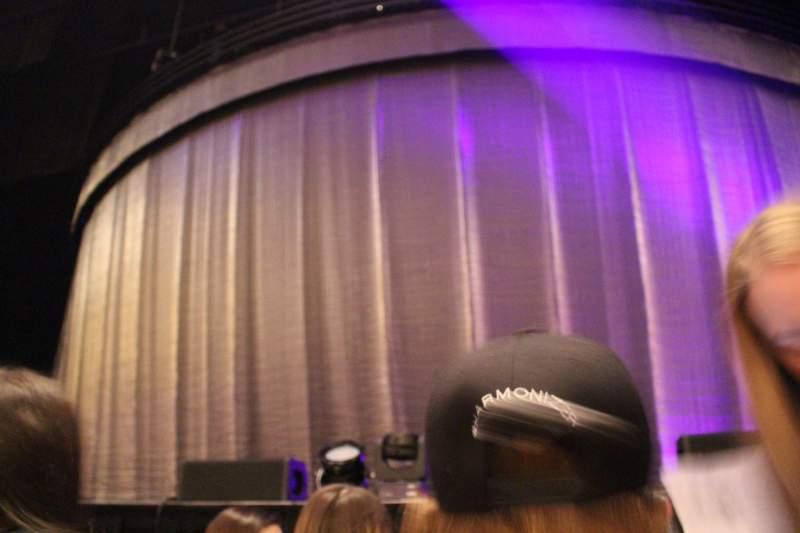 Vista sentada para Toyota Oakdale Theatre Secção 102 Fila C Lugar 15