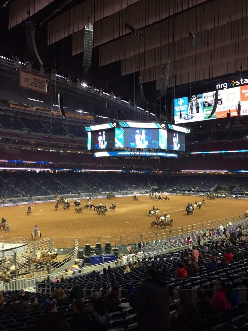Vista sentada para NRG Stadium Secção 132 Fila FF Lugar 13