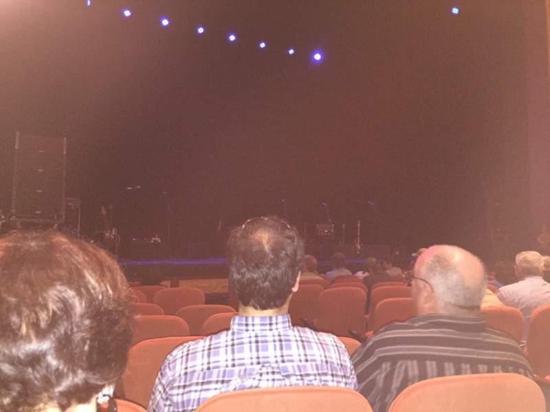 Vista sentada para National Theatre (DC) Secção Orch Fila H Lugar 7
