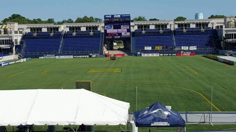 Vista sentada para Navy-Marine Corps Memorial Stadium Secção B Fila 5 Lugar 35