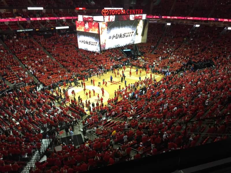 Toyota Center, Secção 414, Fila 2, Lugar 2   Houston Rockets Vs Los Angeles  Clippers, Partilhado Por Anónima