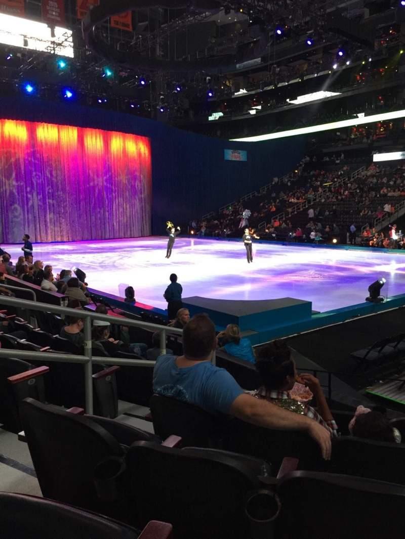 Vista sentada para State Farm Arena Secção 112 Fila G Lugar 10