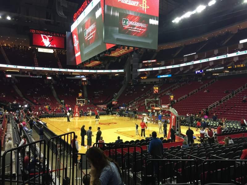Toyota Center, Secção 102, Fila 8, Lugar 10   Houston Rockets Vs Los  Angeles Clippers, Partilhado Por Anónima