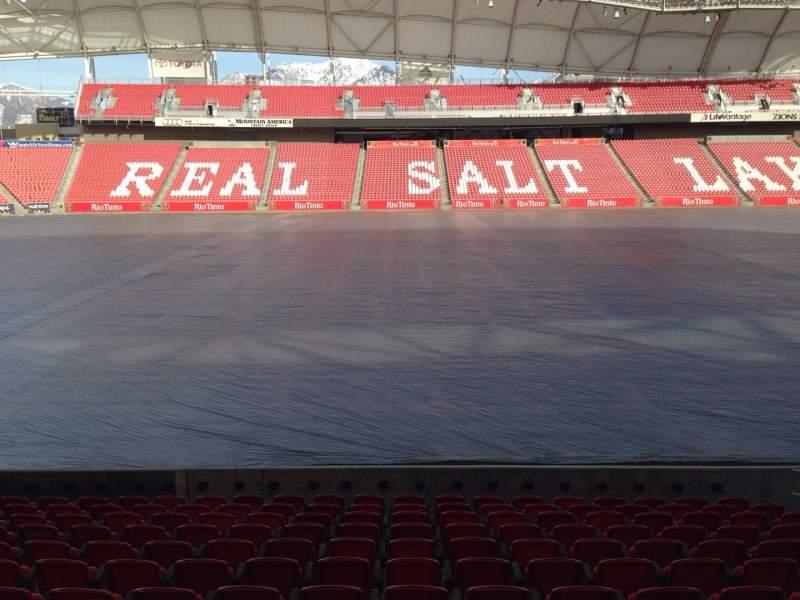 Vista sentada para Rio Tinto Stadium Secção 20 Fila p Lugar 15