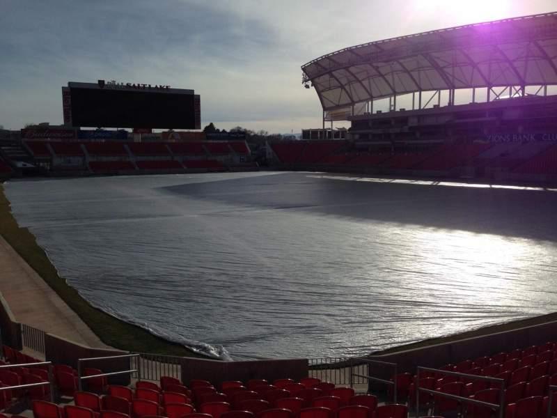 Vista sentada para Rio Tinto Stadium Secção 32 Fila p Lugar 10