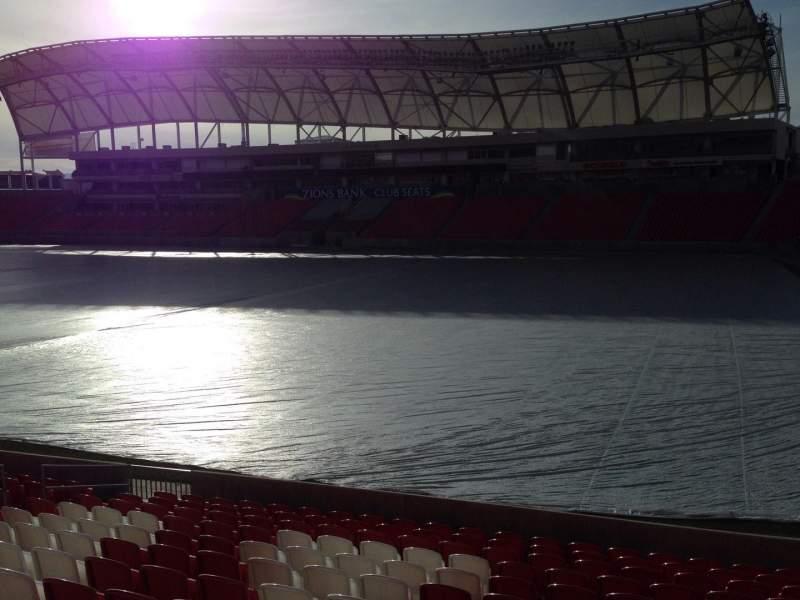 Vista sentada para Rio Tinto Stadium Secção 34 Fila p Lugar 15