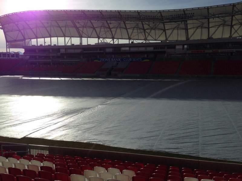 Vista sentada para Rio Tinto Stadium Secção 35 Fila p Lugar 15