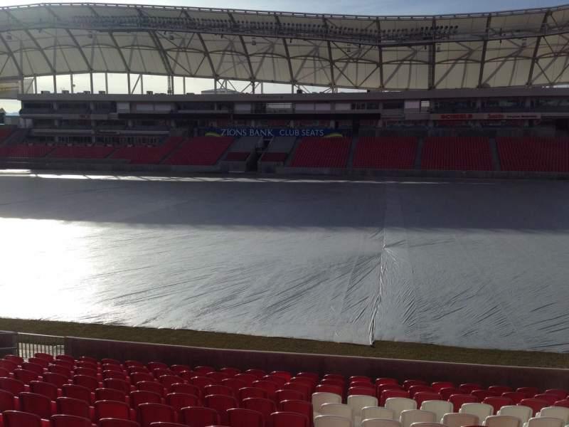 Vista sentada para Rio Tinto Stadium Secção 36 Fila p Lugar 15