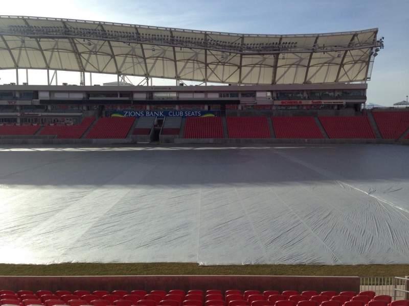 Vista sentada para Rio Tinto Stadium Secção 37 Fila p Lugar 15