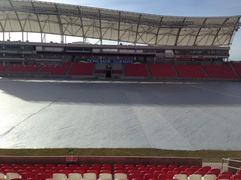 Vista sentada para Rio Tinto Stadium Secção 1 Fila p Lugar 15