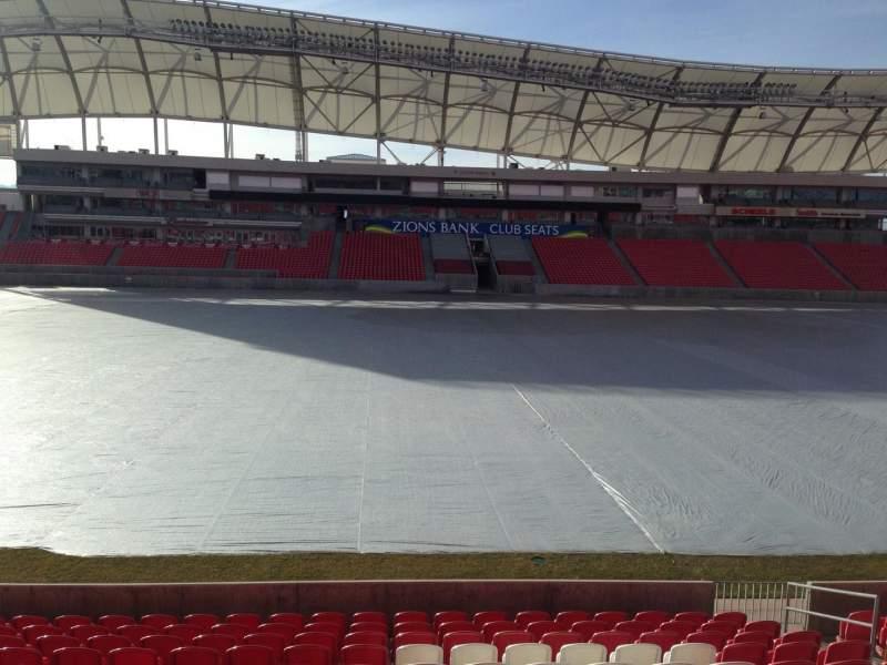 Vista sentada para Rio Tinto Stadium Secção 2 Fila p Lugar 15
