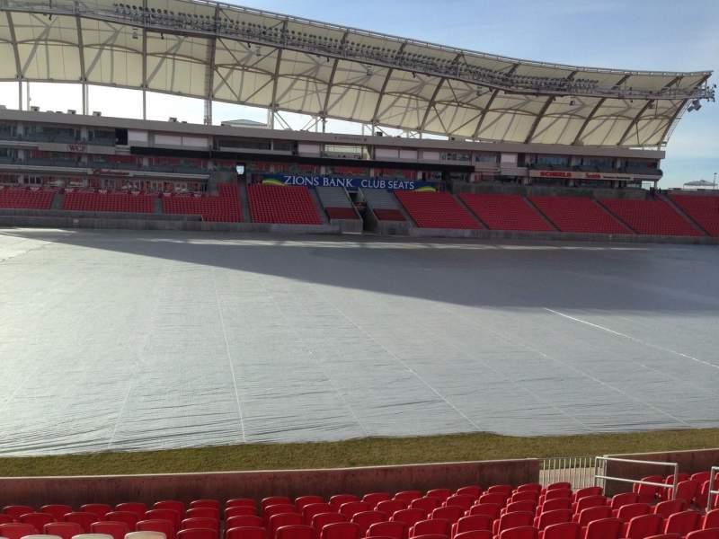 Vista sentada para Rio Tinto Stadium Secção 3 Fila p Lugar 15