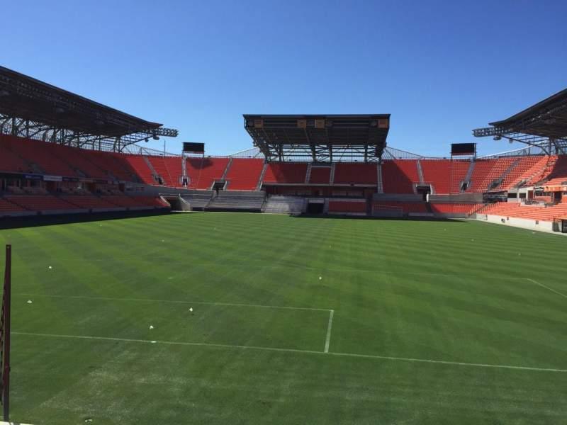 Vista sentada para BBVA Stadium Secção 115 Fila F Lugar 15