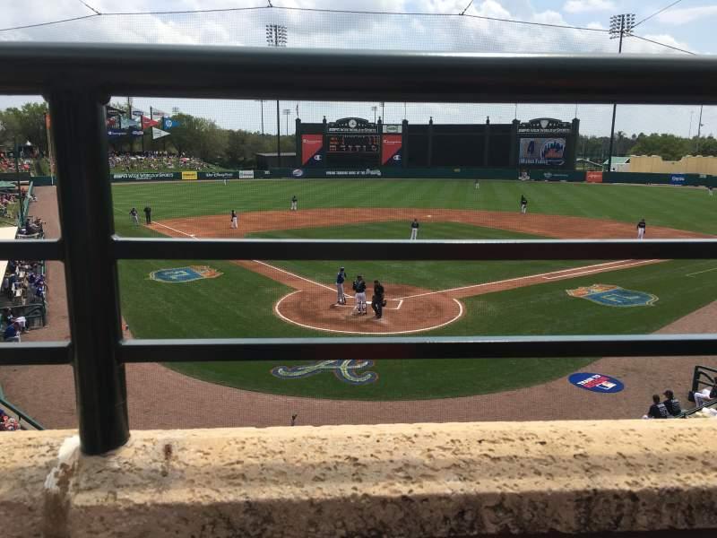 Vista sentada para Champion Stadium Secção 213 Fila A Lugar 12