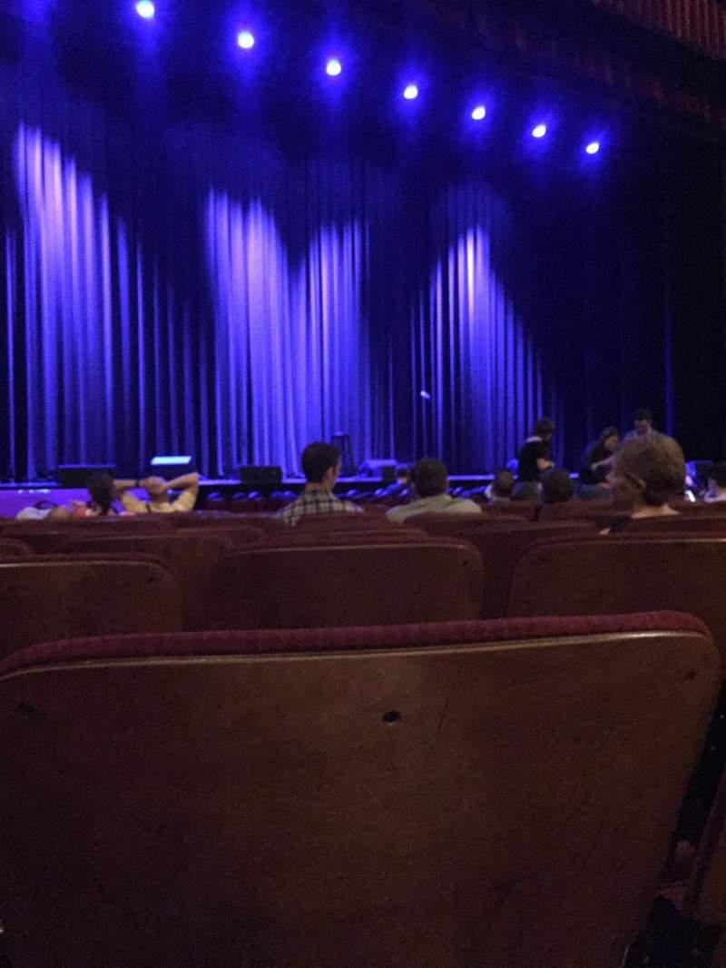 Vista sentada para Chicago Theatre Secção MNFL3L Fila KK Lugar 313