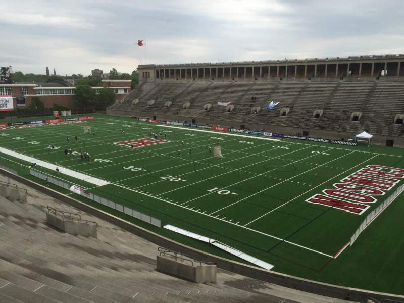 Vista sentada para Harvard Stadium Secção 25 Fila NN Lugar 8