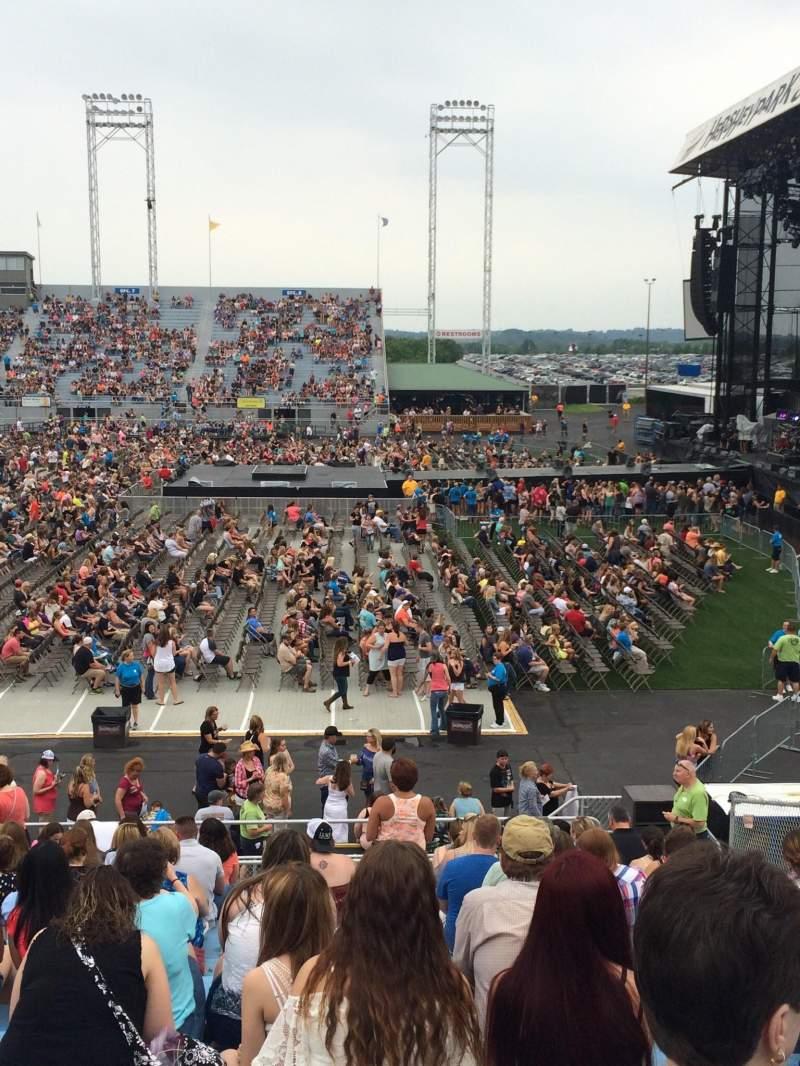 Vista sentada para Hershey Park Stadium Secção 25 Fila M Lugar 5