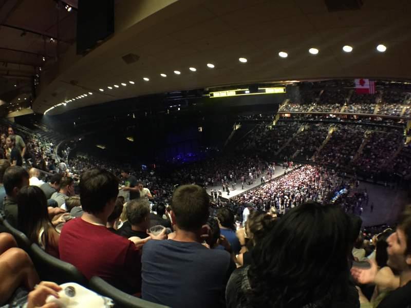 Vista sentada para Madison Square Garden Secção 227 Fila 13 Lugar 13