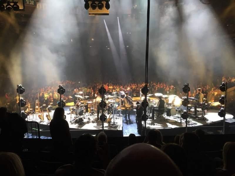 Vista sentada para Madison Square Garden Secção 112 Fila 11 Lugar 6