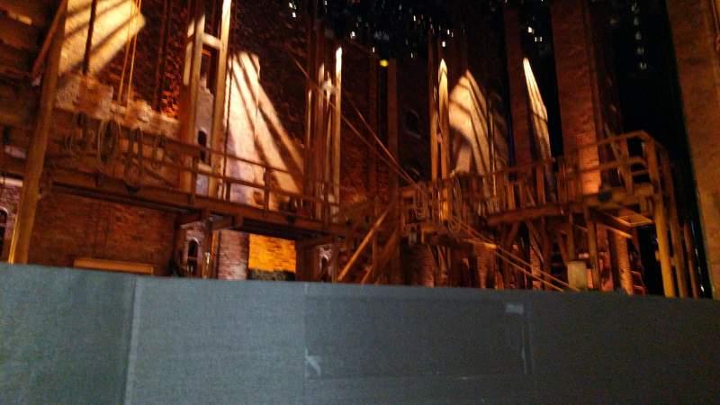 Vista sentada para CIBC Theatre Secção Orchestra L Fila B Lugar 7