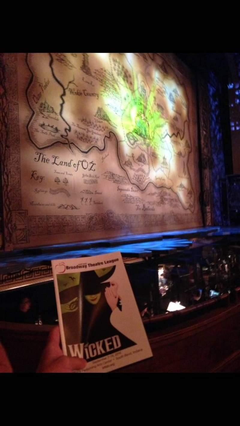 Vista sentada para Morris Performing Arts Center Secção ORCH L Fila BB Lugar 2
