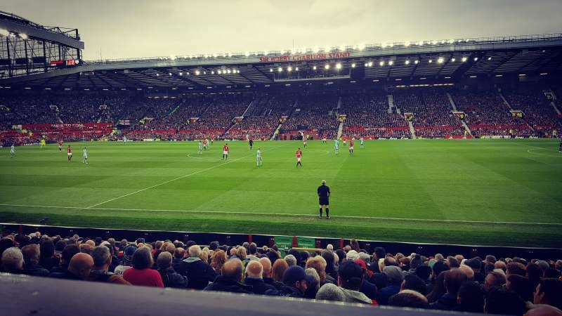 Vista sentada para Old Trafford Secção Sir Alex Ferguson Stand