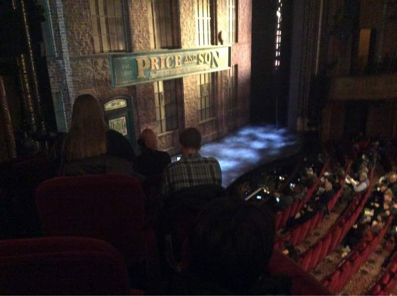 Vista sentada para Al Hirschfeld Theatre Secção Left Box Lugar 13