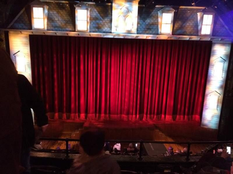 Vista sentada para Studio 54 Secção Front Mezzanine C Fila Dd Lugar 114