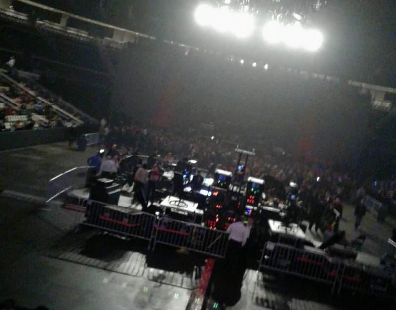 Vista sentada para PPG Paints Arena Secção 107 Fila W Lugar 9