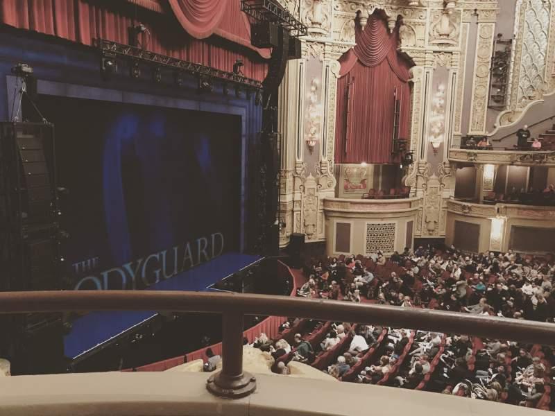 Vista sentada para James M. Nederlander Theatre Secção Loge - Box 1 Fila A Lugar 373