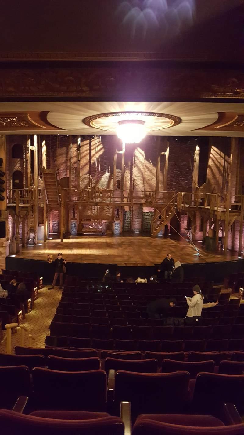 Vista sentada para Richard Rodgers Theatre Secção Orchestra C Fila S Lugar 112