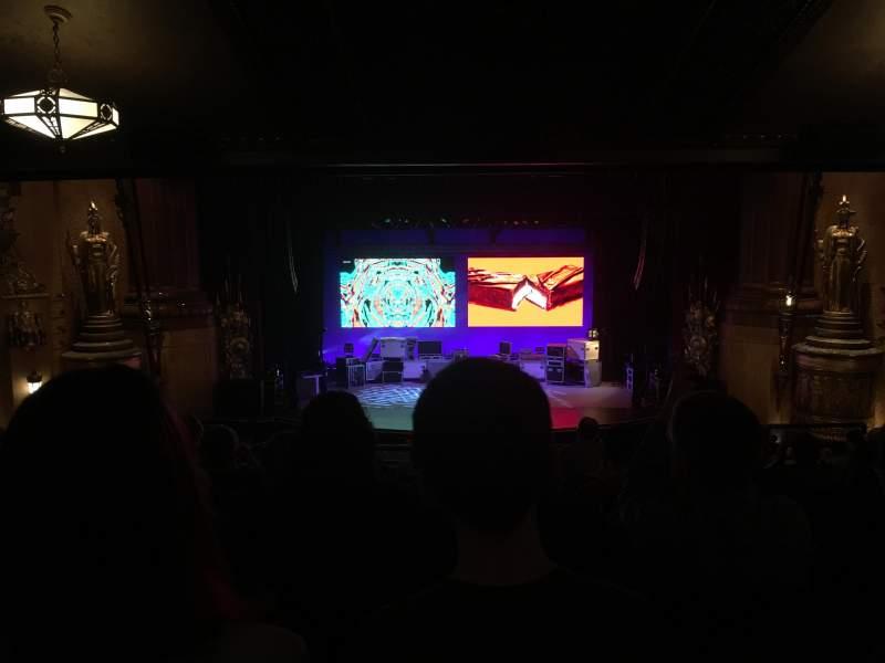 Vista sentada para Beacon Theatre Secção Loge Fila H Lugar 108