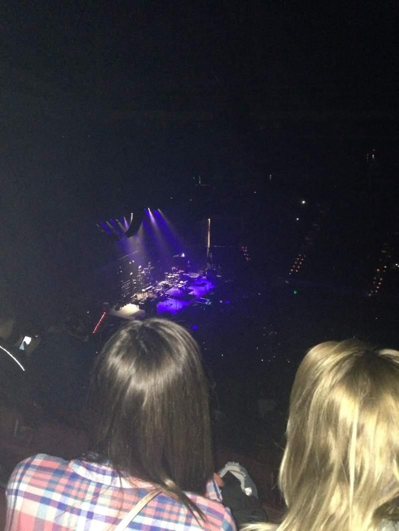 Vista sentada para Simmons Bank Arena Secção 221 Fila 17 Lugar 4