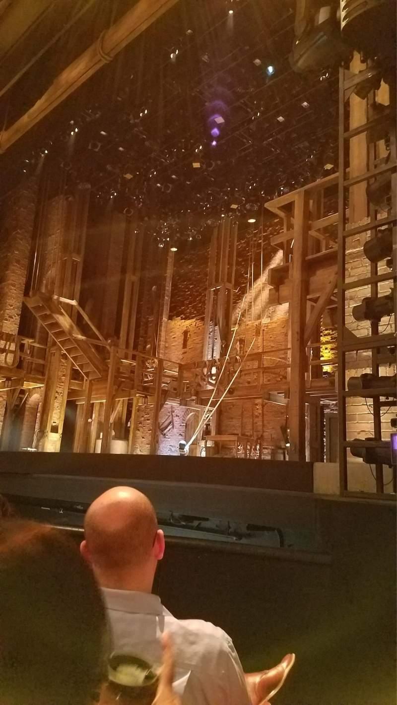 Vista sentada para Orpheum Theatre (San Francisco) Secção Orchestra R Fila D Lugar 8