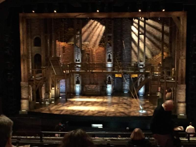 Vista sentada para Orpheum Theatre (San Francisco) Secção Mezzanine RC Fila K Lugar 110