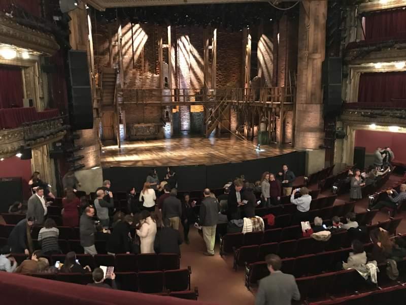 Vista sentada para CIBC Theatre Secção Dress Circle LC Fila A Lugar 231