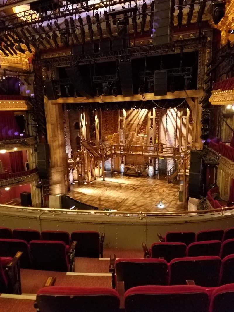 Vista sentada para CIBC Theatre Secção Mezzanine R Fila F Lugar 6
